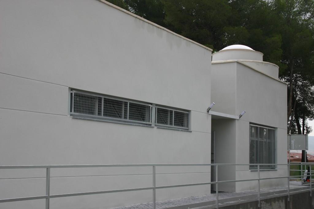 Aulas medioambientales municipales. Superficie: 177 m2. Parque de la Quebradilla. Azuqueca de Henares. Guadalajara. 2004