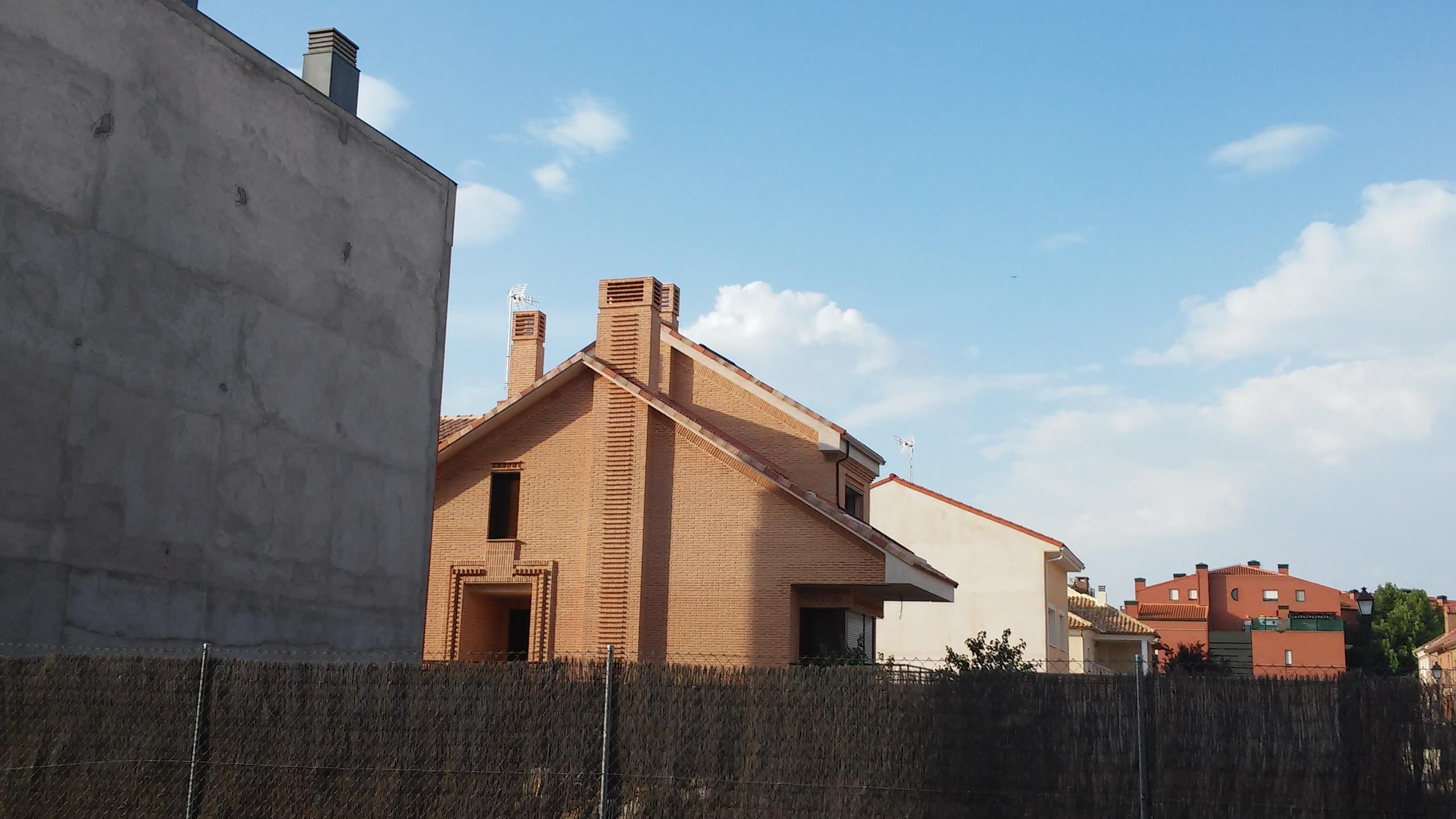 ALZADO LATERAL. Vivienda unifamiliar en Calle Rascafría 22. Superficie: 288.10 m2. Azuqueca de Henares. Guadalajara. 2012
