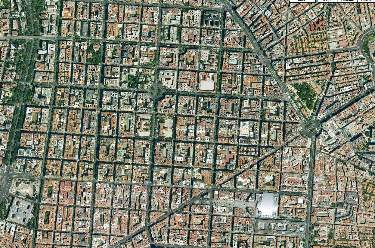 La ciudad compacta: el ensanche de Madrid.