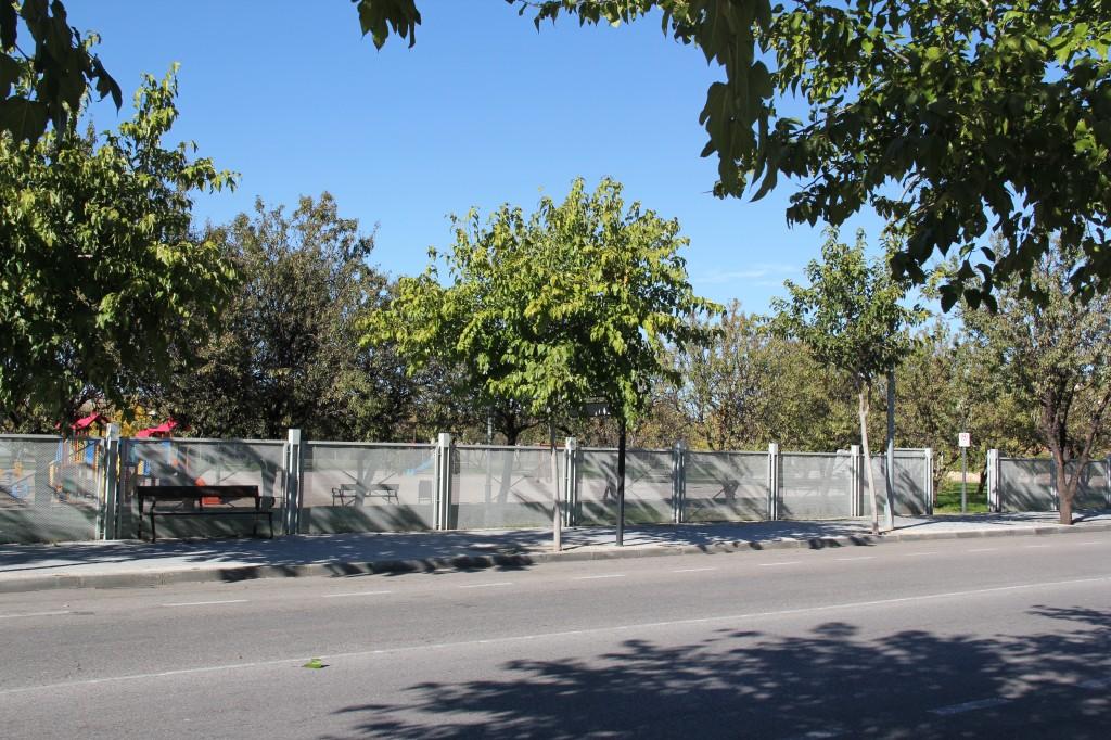 Parque de los almendros. Superficie: 19.174 m2. Avenida de Enmedio. Azuqueca de Henares. Guadalajara. 2003