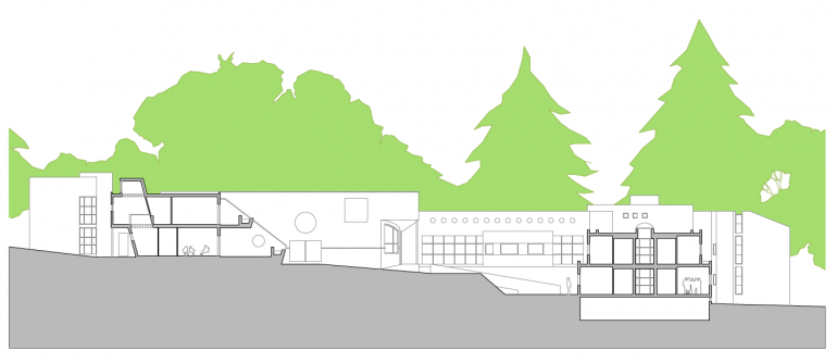 Residencia geriátrica y centro de día. 142 camas. Torres de la Alameda. 1.999